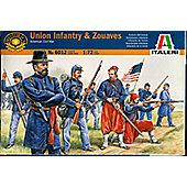 Union Infantry & Zouaves - 1:72 Scale - 6012 - Italeri