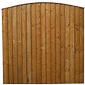 Mercia Vertical Close Board Fencing x3