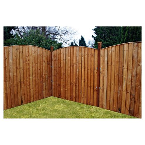 Mercia Vertical Close Board Fencing x3