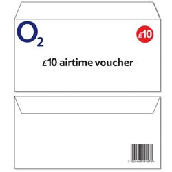 O2 £10 Top-up voucher