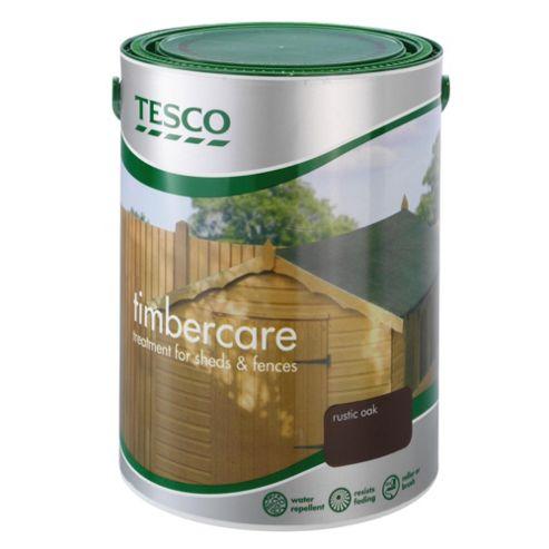 Tesco Timbercare Rustic Oak 5L