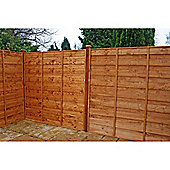 Mercia Waney Edge Horizontal Fencing x3