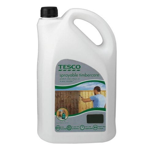Tesco Sprayable Forest Green 5L