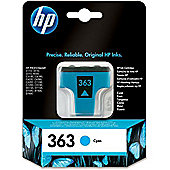HP 363 Printer Ink Cartridge - Cyan (C8771EE)