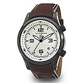 Elliot Brown Canford Mens Leather Date Watch 202-009