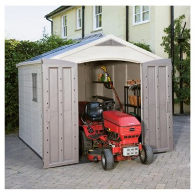 Outdoor narrow shed equipment storage shed plans keter for Narrow storage shed