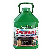 Cuprinol Sprayable Forest Oak 5L Brown