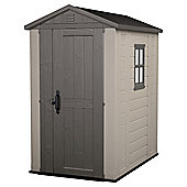 Keter 4 x 6 Plastic Apex Shed