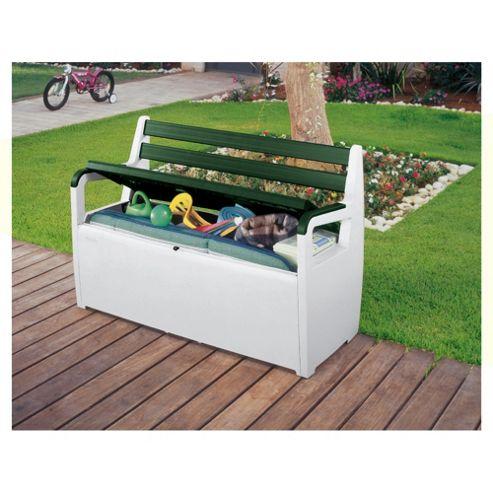 Buy Keter Garden Bench Storage Box From Our Garden Storage Range Tesco