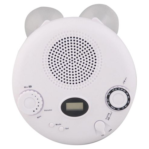 Tesco Value RAD-307 AM/FM Shower Clock Radio