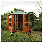 Rowlinson Ryton Octagonal Wooden Summerhouse, 8x6ft