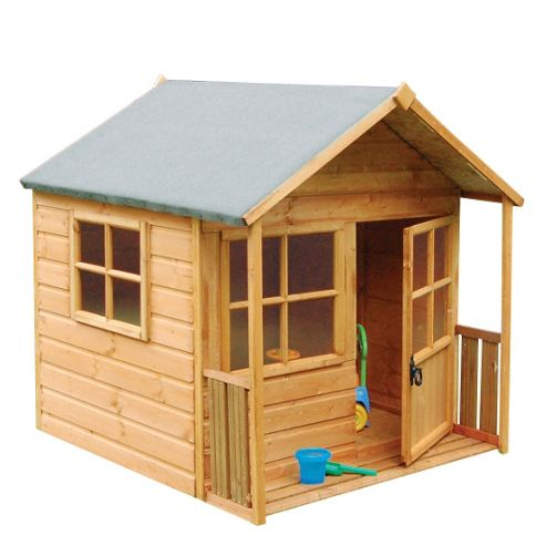 Rowlinson Playaway Wooden Playhouse, 5ft x 5ft