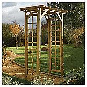 Rowlinson Wooden Trellis Arch