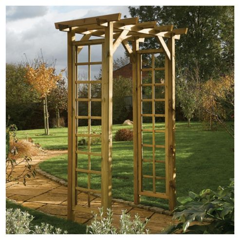 Rowlinson Wooden Trellis Garden Arch