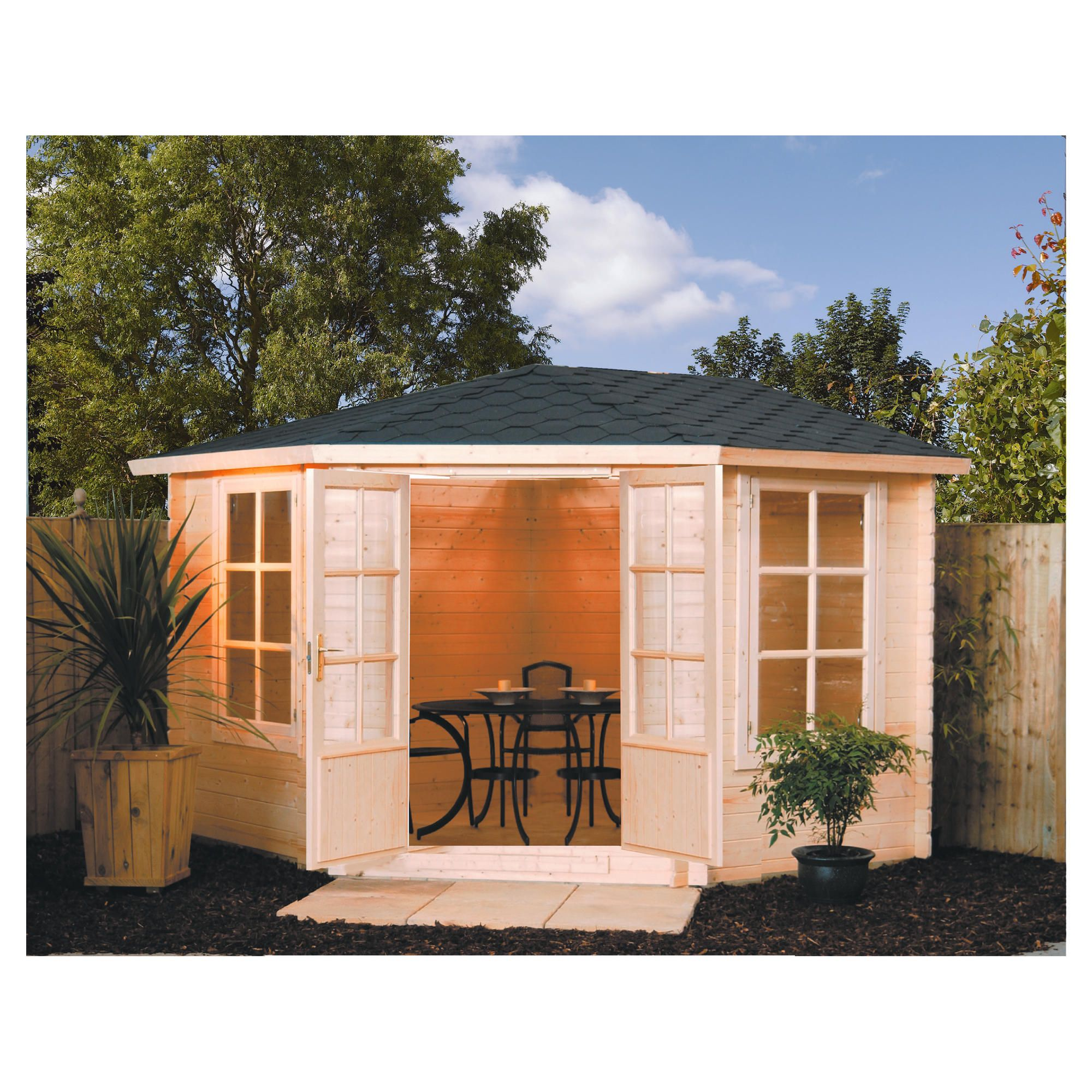 Rowlinson Kestrel Summer House at Tesco Direct