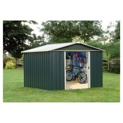 Yardmaster 10x8 Titan Metal Apex Shed