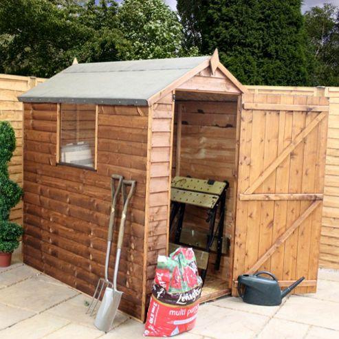 Mercia Apex Overlap shed