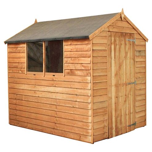 Buy Mercia Apex Overlap Wooden Shed 7x5ft From Our Wooden