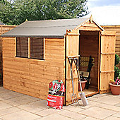Mercia 8x6 Overlap Apex Shed