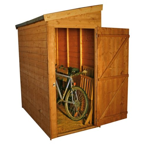 Buy mercia universal pent wooden shed 6x3ft from our for Garden shed tesco