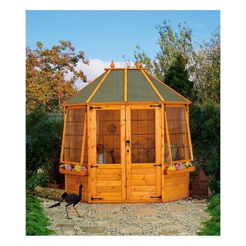 Mercia Buttermere Octagonal Wooden Summerhouse, 8x6ft