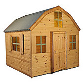 Mercia 6ft x 6ft Dutch Barn Wooden Playhouse