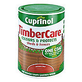 Cuprinol Timbercare, 5L, Autumn Red