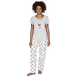 F&F Pug Print Pyjamas