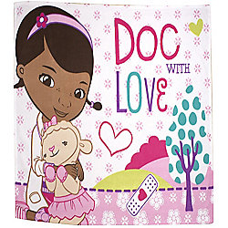 Doc McStuffins Panel Fleece - Hugs