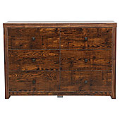 Torino 6 Drawer Chest, Mango