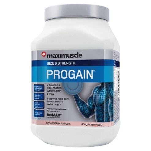 Maximuscle Progain 800g Strawberry