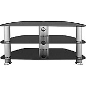 Universal Black TV Stand For up to 42 inch TVs