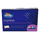 Silentnight Impress Memory Foam Comfort Core Pillow