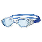 Zoggs Phoenix Adult Swimming Goggles, Light Blue