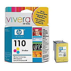 HP 110 Tri-colour Original Ink Cartridge