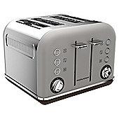 Morphy Richards 242102 Accents 4 Slice Toaster - Pebble