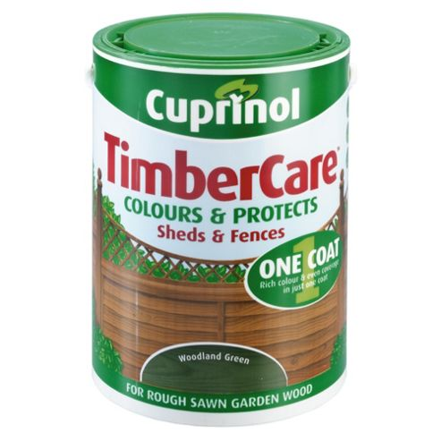 Cuprinol Timbercare, 5L, Wood Green