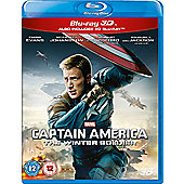 Marvel's Captain America: The Winter Soldier 3D Bluray