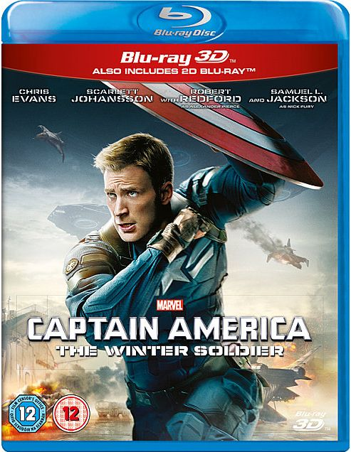 Marvel's Captain America: The Winter Soldier (3D Bluray)