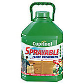 Cuprinol Sprayable Timbercare, 5L, Autumn Gold