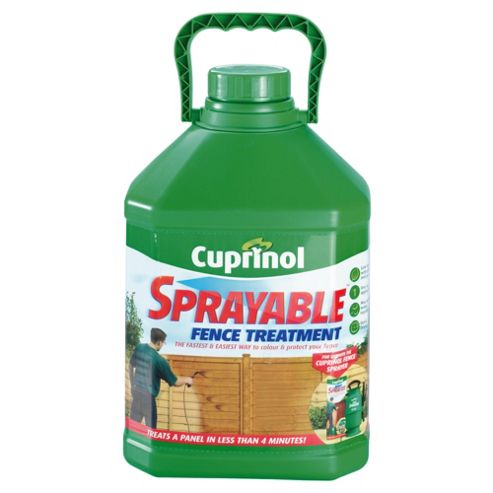 Cuprinol Sprayable Timbercare, 5L, Autumn Gold