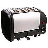 Dualit 40344 Vario 4 Slice Toaster - Black