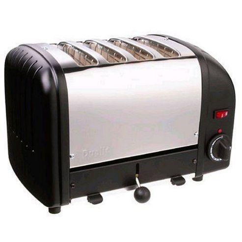 Dualit 4 Slot Vario Toaster - Black