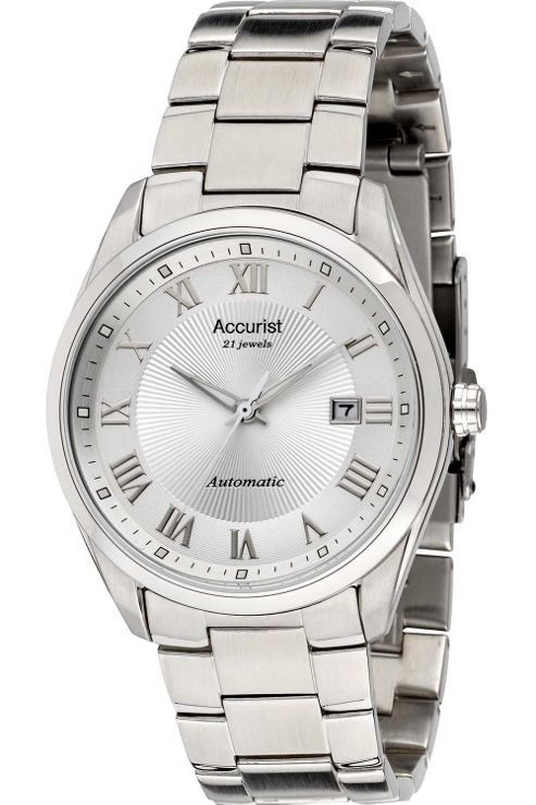 Accurist Gents Automatic Bracelet Watch MB916S