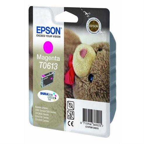Epson T0613 printer ink cartridge - Magenta