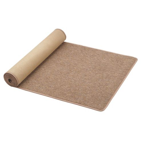 Tesco Plain Washable Runner 57x150cm Biscuit