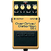 Boss OS-2 Overdrive Distortion Effects Pedal