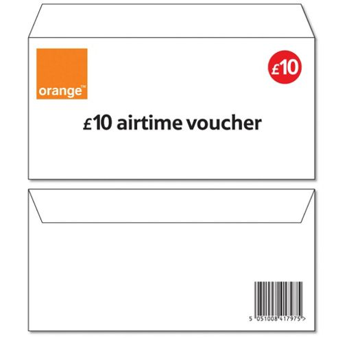 Orange £10 Top-up voucher