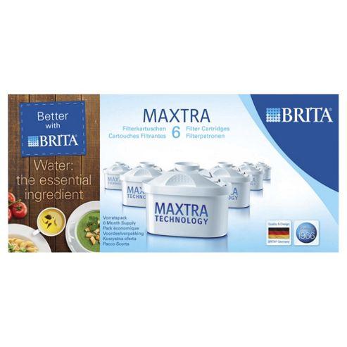 BRITA Maxtra Water Filter Cartridges, 6-Pack