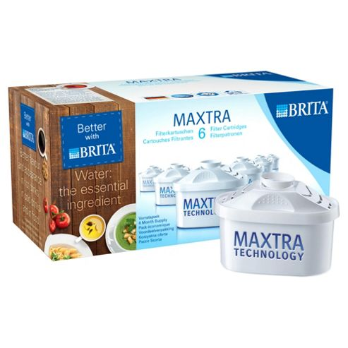 BRITA Maxtra 6 Pack Water Filter Cartridges